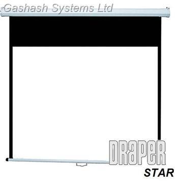 מסך הקרנה ידני 152 DRAPER STAR