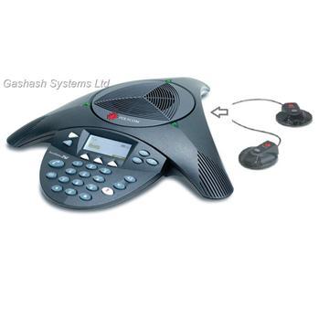 מערכת אלחוטית לשיחות ועידה  Polycom Sound Station 2w EXP