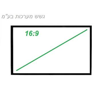 מסך מתיחה 16:9  106